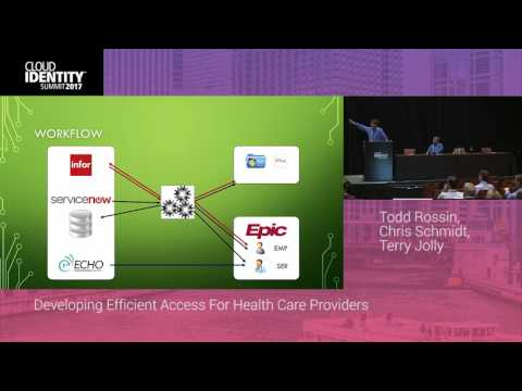 6/21 | IDMWorks Presents: Developing Efficient Access For Health Care Providers | CIS 2017