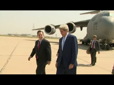 News In 90:  Kerry Visits Iraq to Discuss Military Plans