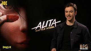 Keean Johnson on what the first day is like on a $200 million movie