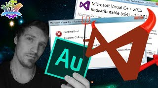 Microsoft Visual C++ Runtime Library | 0x80070666 Настройка не завершена Adobe Audition