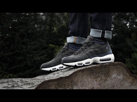 Nike Air Max 95 Premium Wool Sequoia On Foot YouTube