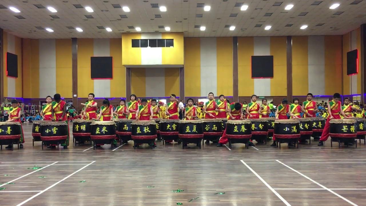 第71屆循人小學常年運動會廿四節令鼓表演 - YouTube