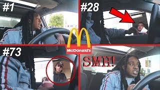 Driving Through The SAME McDonald