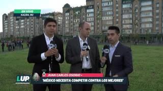 Juan Carlos Osorio dice en conferencia de prensa que México merecía ganar