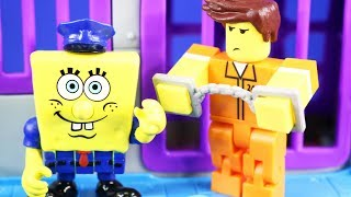 Roblox Inmate Goes To Glove World And Goes Back To Imaginext Spongebob Squarepants Jail thumbnail