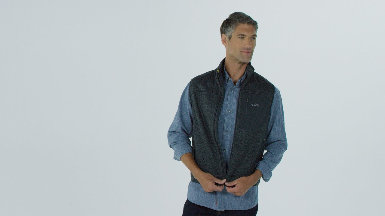 e24a4b4d0112d3 ORVIS - Men s Windproof Fleece Sweater Vest - YouTube