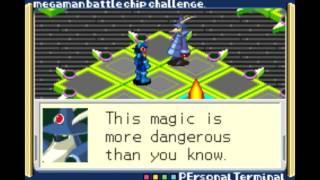 Mega Man Battle Chip Challenge - Open Battle: Hacker's Net [2/2]
