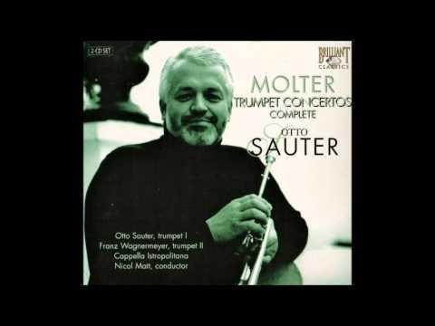 Johann Melchior Molter Concertos for Trunmpet, Otto Sauter 1/2