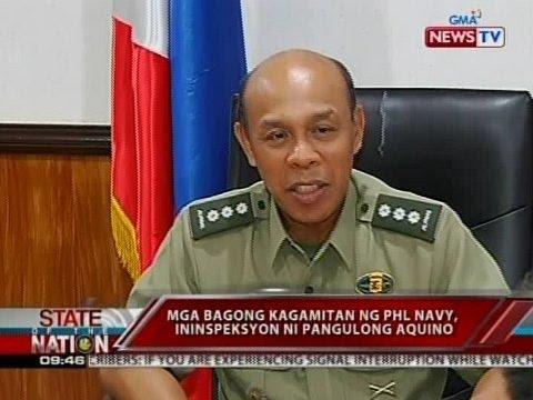 SONA: Radm. Caesar Taccad, bagong flag officer in command ng PHL Navy