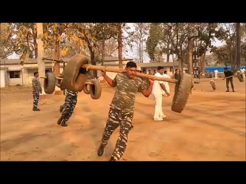 PHYSICAL TRAINING 85 BN CRPF