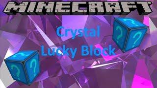 CRYSTAL LUCKY BLOCK - MINECRAFT 1.8.9 (MOD SHOWCASE)