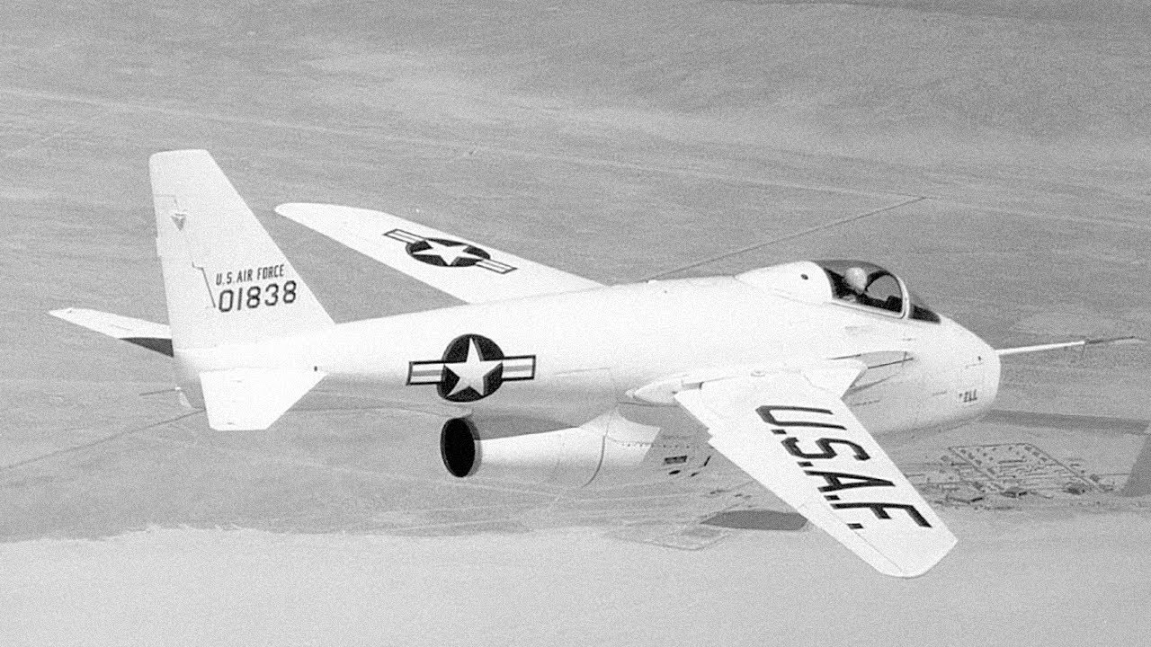 Bell X-5 - Flying with Secret Nazi Technology