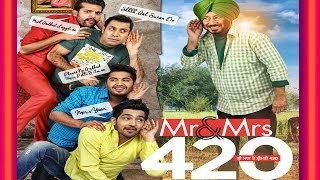 Mr & Mrs 420 ( Full Movies ) Binnu Dhillon, Jassie Gill  - Latest Punjabi Film  - New Punjabi Movie