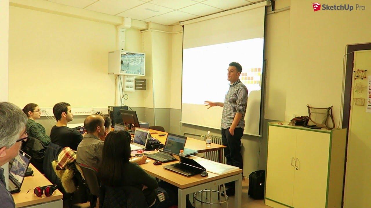 Presentando sketchup escuela de arte y superior c r b c - Escuela arquitectura valladolid ...
