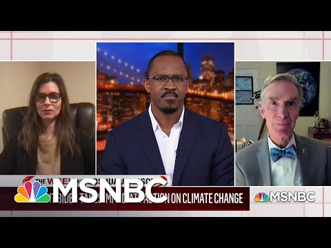 Breaking Down the Biden Administration's Climate Change Plan Of Action With Bill Nye   MSNBC