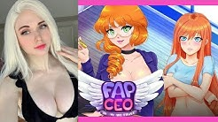 Amouranth Plays the Cam Girl Game | FAP CEO NUTAKU