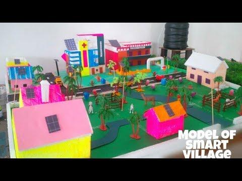 Model of smart village | Irragation | solar energy |#Hritikart