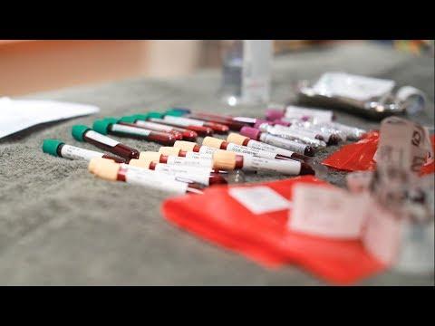 INEOS TEAM UK Blood profiling