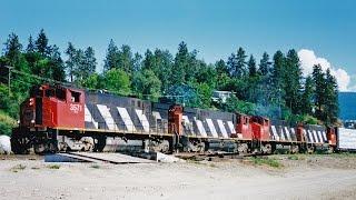 Ex-CNR M420W Locomotives on BC