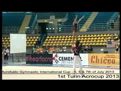 1st Turin Acrocup - Acrobatic Gymnastic International Cup - Day 2 - part 5