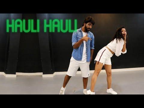 HAULI HAULI   De De Pyaar De   Dance Cover  Aditi Ft  Deepak   Neha Kakkar Garry S Tanishk