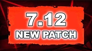 Dota 2 NEW 7.12 PATCH - Main Changes!