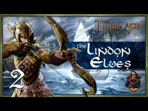 THE ELVEN DOMINION BEGINS! - Third Age Total War (DaC 1.2 - Elves of Lindon) #2 by SurrealBeliefs