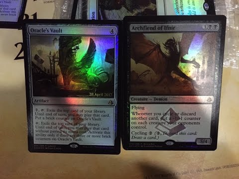 MTG - Two Amonkhet Spoilers PLUS Horde of Notions CYCLING DECK 1v1 Gameplay!