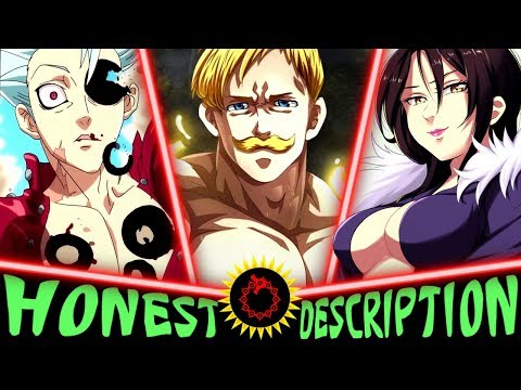 All 7 Sins In The Seven Deadly Sins - Honest Anime Descriptions