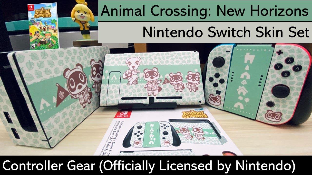 Nintendo Switch Animal Crossing New Horizons Decal Skin Set