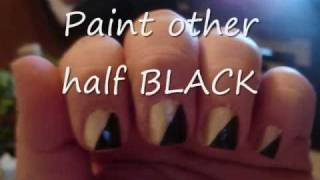 Black & Gold Nail Tutorial.wmv Thumbnail