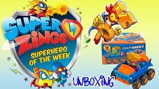 Super Zing seria 2 ⚡ Mega unboxing