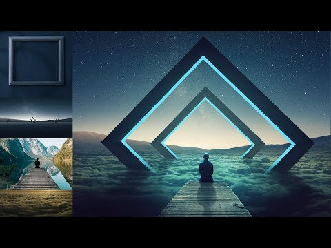 Fantasy Frame Photo Manipulation Photoshop Tutorial