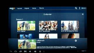Testing Starz Play App On Android 4.2 HDMI TV Box - License Error