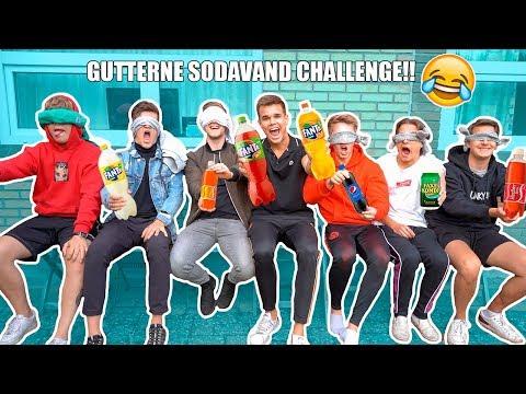 SODAVAND CHALLENGE MED ALLE GUTTERNE!!