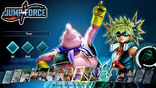 Jump Force - ALL NEW DLC Pack 2 Characters Moveset & Ultimates Gameplay - Majin Buu & Bakugo