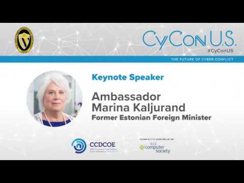 Ambassador Marina Kaljurand - Former Estonian Foreign Minister