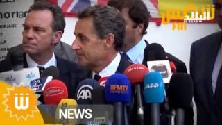 """ساركوزي يعد الجزائر ب """" خراب ليبيا """" !  EL BILAD TV"""