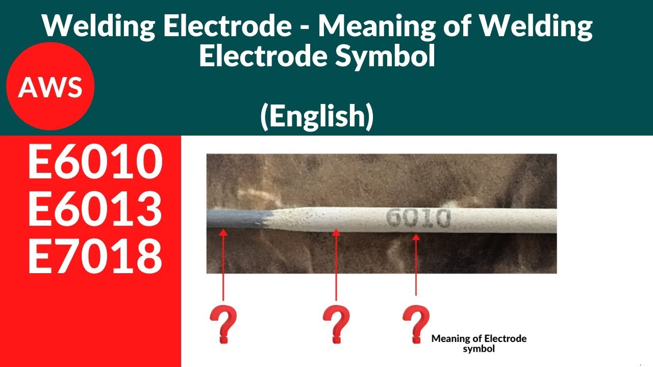 welding electrodes - Meaning of Welding rod Symbol in ...