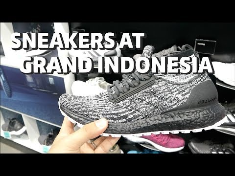 SNEAKERS SHOPS GRAND INDONESIA (ADA YEEZY?) Bahasa Indonesia