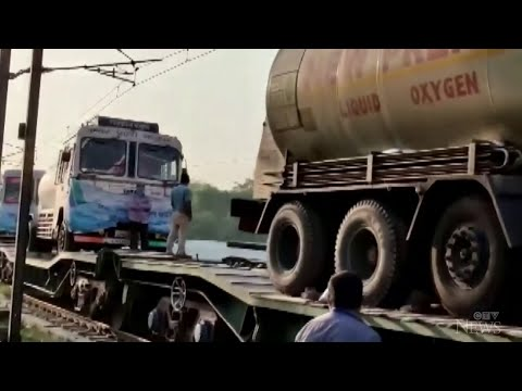 Transporting much-needed oxygen in India