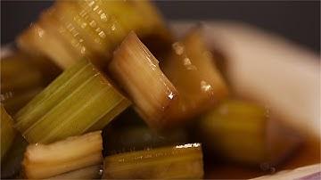 부담없이 만들어 먹는 초간단..아삭 아삭한 샐러리 장아찌 만들기/밑반찬으로 너무 좋아요. 몸에도 좋은 건강 식재료...