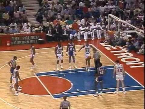 1989 NBA Finals: Lakers at Pistons, Gm 1 part 8/12