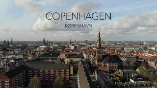 Flying over incredible Copenhagen / København, Denmark. Quick dynamic overview