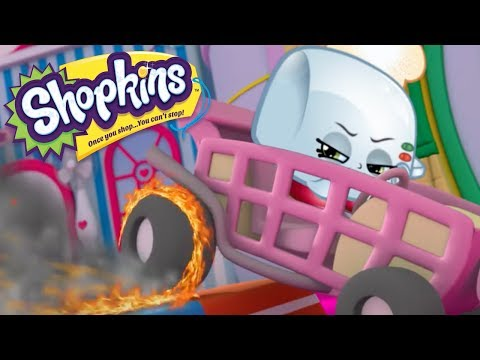 SHOPKINS - FABULOUS FIRE WHEELS | Cartoons For Kids | Toys For Kids | Shopkins Cartoon