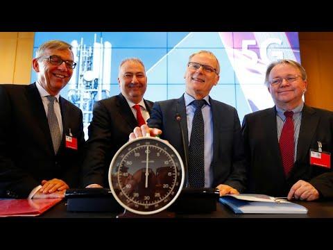 Startschuss der Auktion für 5G-Rechte in Deutschland