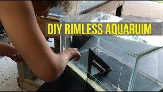 DIY RIMLESS FISH TANK (Nano Reef Build Part 1)- Hooked On Aquariums