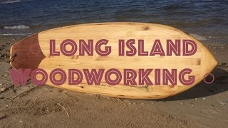 Making a Wooden Surfboard - 25