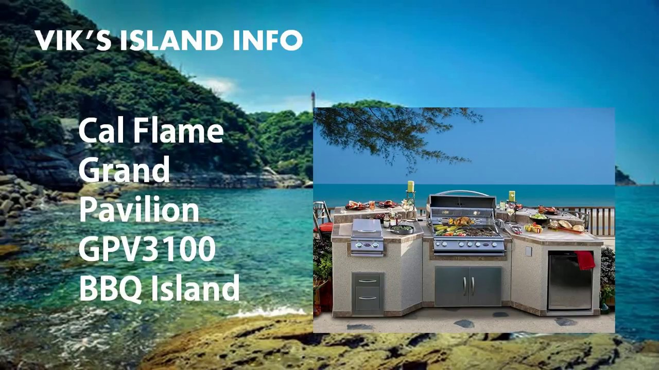 Cal Flame GPV3100 Outdoor Kitchen Island Review - YouTube