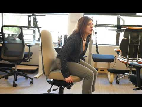 How To Adjust Your Office Chair Seat Depth Correctly